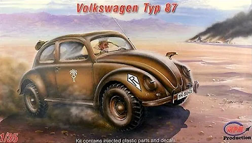Volkswagen Typ 87 - 1/35 - MPM T35013  - BLIMPS COMÉRCIO ELETRÔNICO