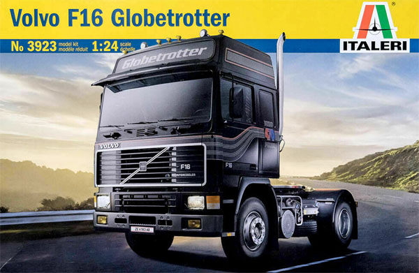 Volvo F16 Globetrotter - 1/24 - Italeri 3923  - BLIMPS COMÉRCIO ELETRÔNICO