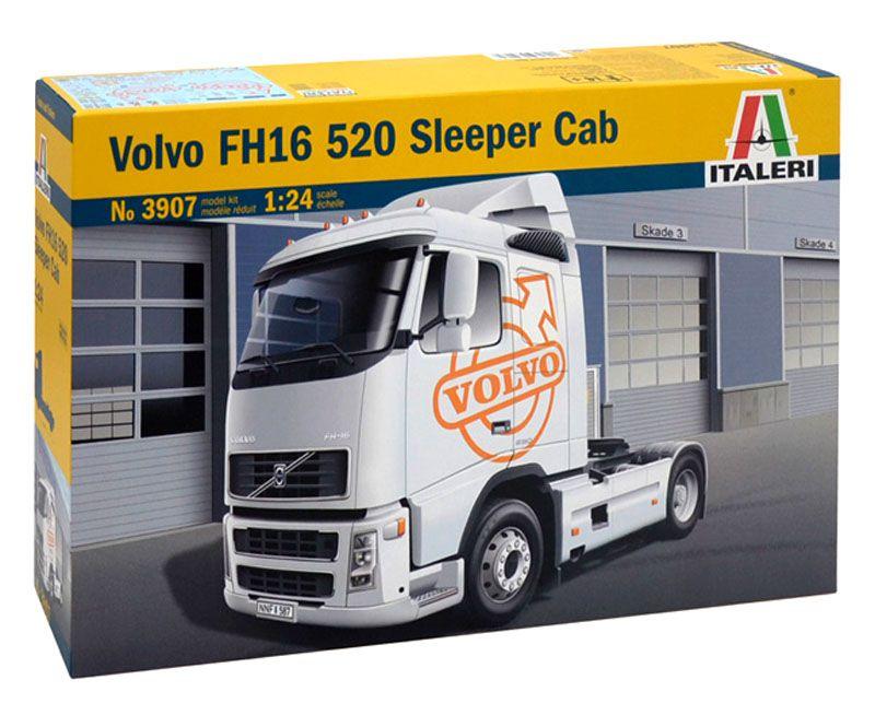 Volvo FH16 520 Sleeper Cab - 1/24 - Italeri 3907  - BLIMPS COMÉRCIO ELETRÔNICO