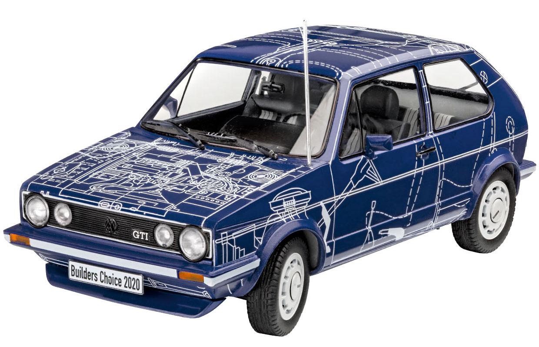 """VW Golf GTI """"Builders Choice"""" - 1/24 - Revell 07673  - BLIMPS COMÉRCIO ELETRÔNICO"""