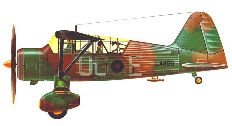Westland MK.II Lysander - 1/48 - Hawk HL410  - BLIMPS COMÉRCIO ELETRÔNICO