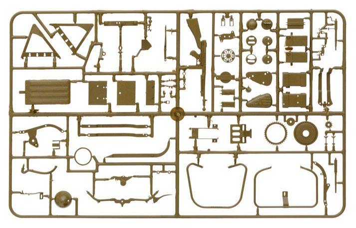 WLA 750 - 1/9 - Italeri 7401  - BLIMPS COMÉRCIO ELETRÔNICO