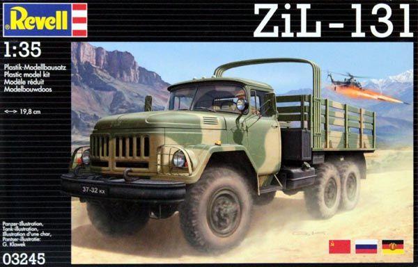 Zil-131 - 1/35 - Revell 03245  - BLIMPS COMÉRCIO ELETRÔNICO