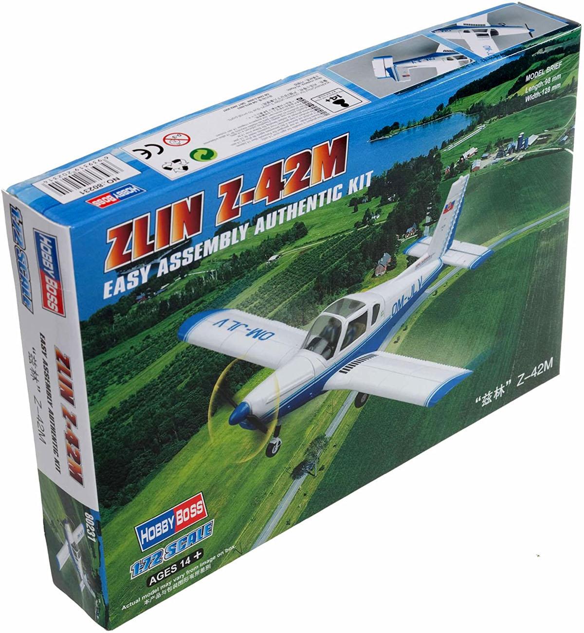 Zlin Z-42M - 1/72 - HobbyBoss 80231  - BLIMPS COMÉRCIO ELETRÔNICO