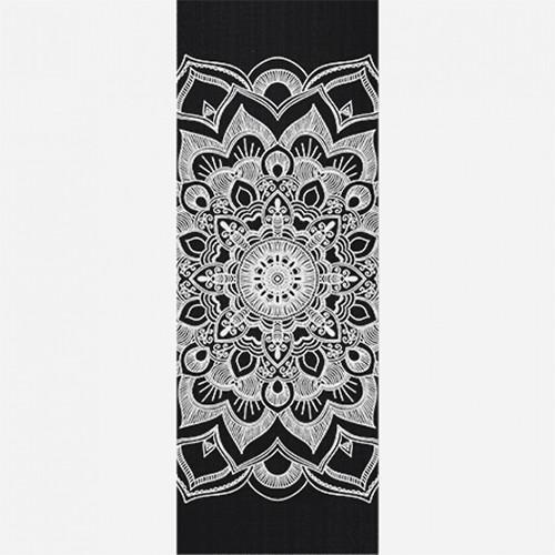 Tapete Yoga Mat PVC mandala 2,00X0,61m Acompanha Alça Porta Mat
