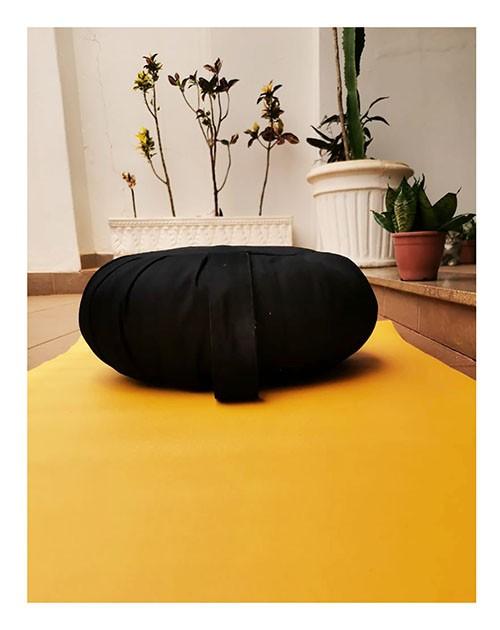 Zafu Almofada Para Meditação Tradicional G