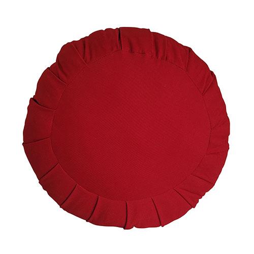 Zafu - Almofada Meditação Tradicional Tam. P Tecido 100%  Algodão 30x12cm