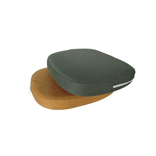 Zafu Nature Injetada P  Em Sarja Almofada Para Meditação 36x28x6cm