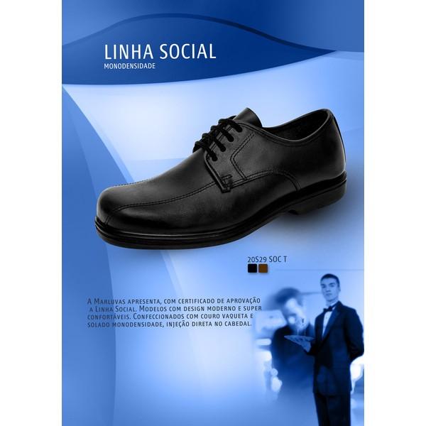 Sapato Social 20S29 Tradicional Marluvas