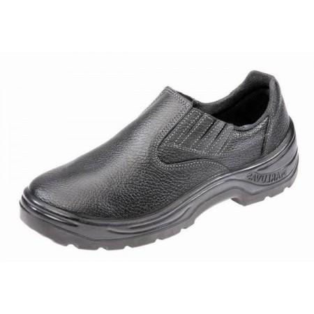 Sapato 90S19 Preto Elástico Bico Plástico Marluvas