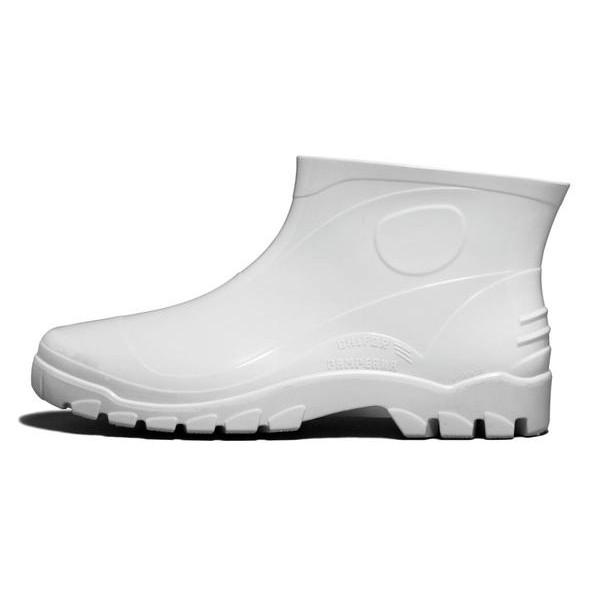 Bota PVC Cano Extra Curto Branca Italbotas
