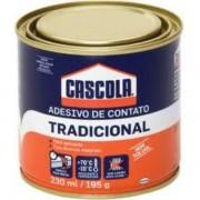 ADESIVO CASCOLA 195GR (S/ TOLUOL)