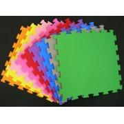 Placa De E.V.A Tatame C/ Encaixe Colorida 1x1 10mm