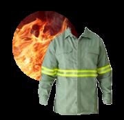 Camisa Antichama Com Refletivo Protera Dupont