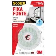 Fita Dupla Face Espuma Fixa Forte 24mm X 1,5m Scotch 3m