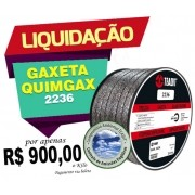 GAXETA QUIMGAX 2236 TEADIT 12,7mm 2Kg