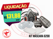 KIT COMPLETO MÁSCARA 6200 3M