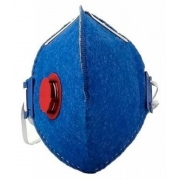 Máscara Descartável Pff2 Com Válvula Ance-air