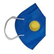 Máscara Descartável Pff2 Com Válvula Supersafety
