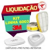 Kit Respiratório Linha 6003 3m