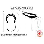 Protetor Facial Descartável Plasticbool