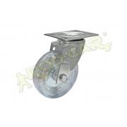 Rodízio Giratório 3 Polegadas C/ Placa Glr310gel Rodcar