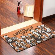 Tapete Capacho Vinil Art Happy Family 60cmX40cm Kapazi