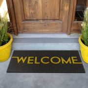 TAPETE VINIL LONG WELCOME 30X70 KAPAZI