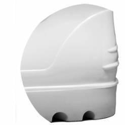 Bota PVC Cano Curto Branca Bracol