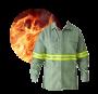 Camisa Antichama Com Refletivo Protera Dupont - Borrachas Bem Te Vi