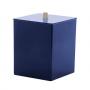 Lixeira Quadrada Quadratta Azul Marinho Paramount - Borrachas Bem Te Vi