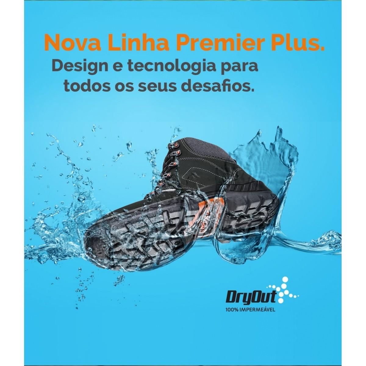 Botina 100% Impermeável Premier Plus 75BPR26 DRY WP Marluvas