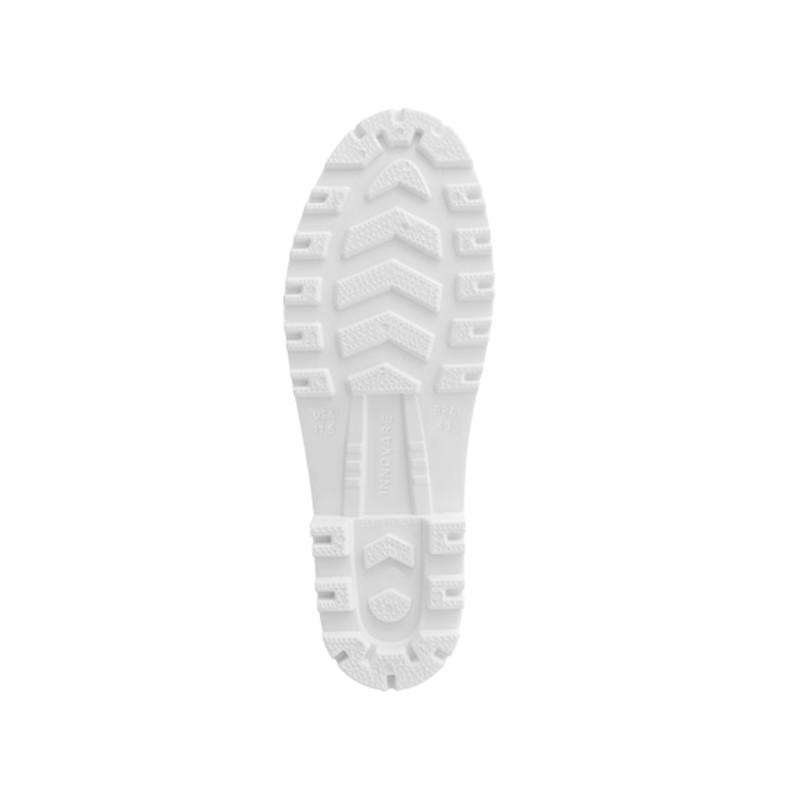 Bota PVC Cano Extra Curto Branca Innpro
