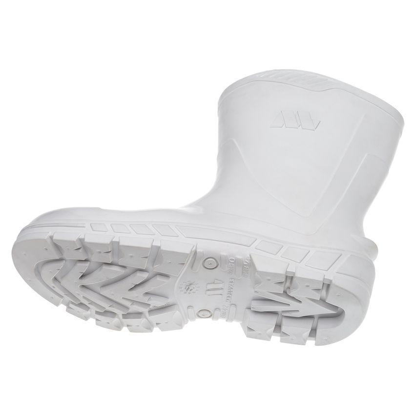 Bota PVC Cano Longo Branca Marluvas