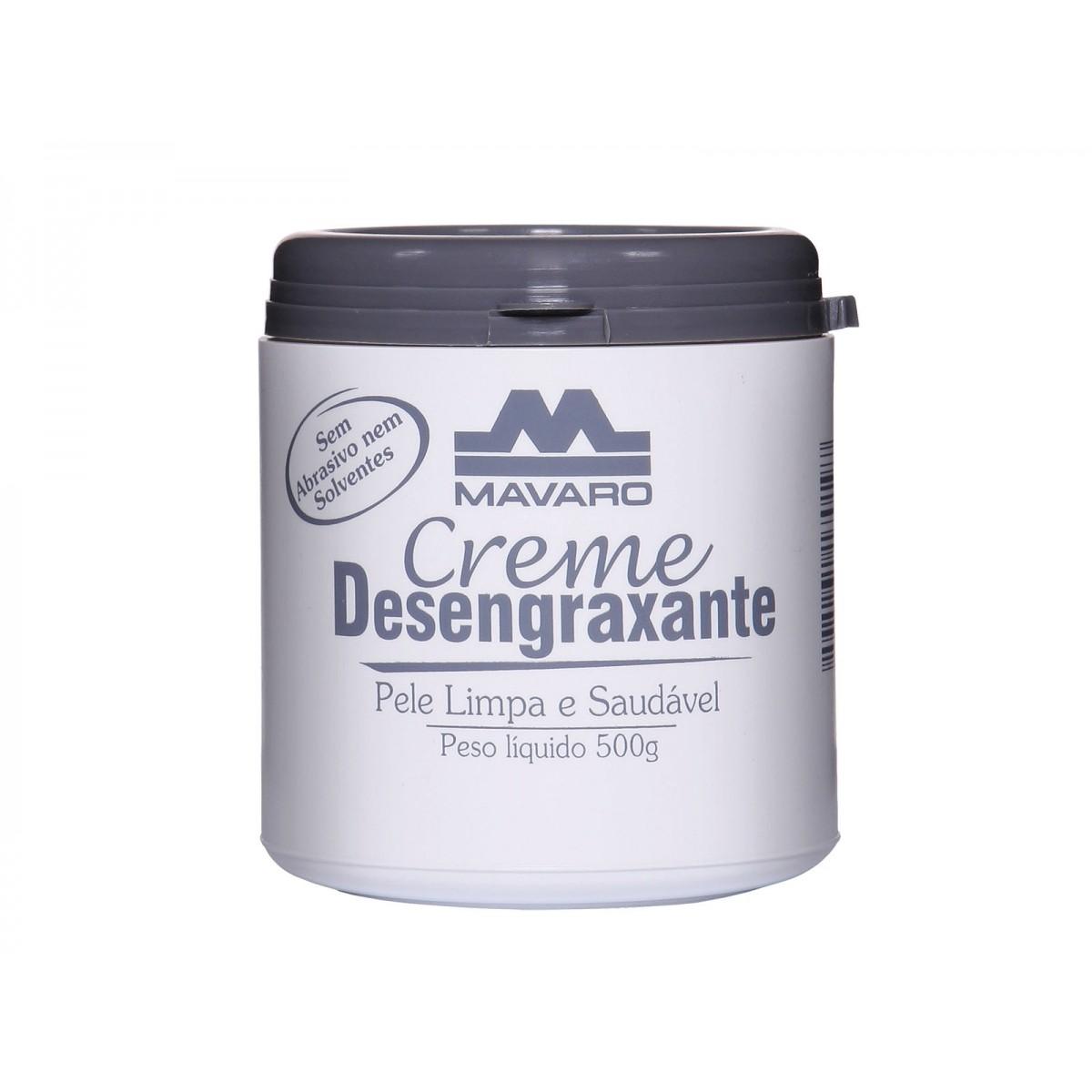 Creme Desengraxante 500gr Mavaro