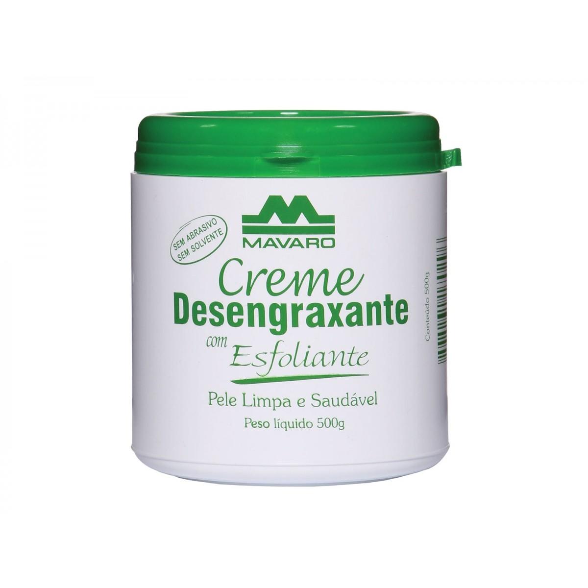 Creme Desengraxante Com Esfoliante 500gr Mavaro