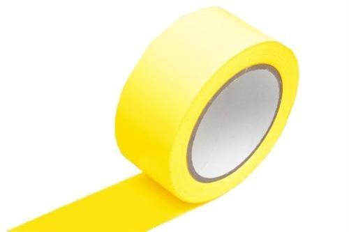 Fita Demarcação De Solo Amarela 48x30