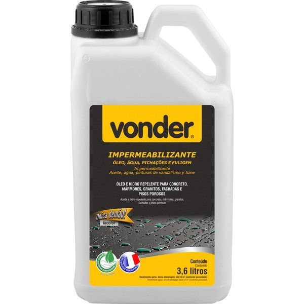 Impermeabilizante Biodegradável 3,6 Litros Vonder