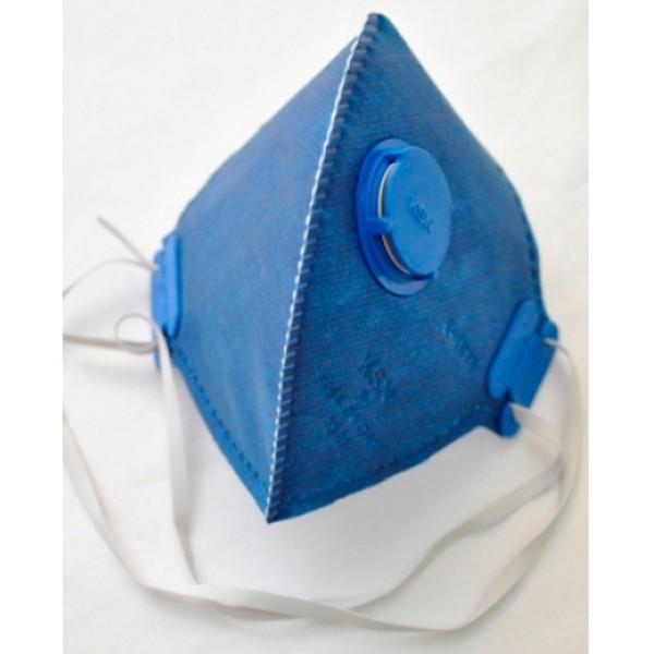 Kit Máscara Descartável Pff2 Com Válvula KSN (50 peças)