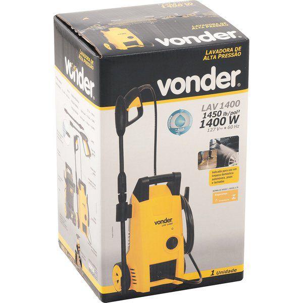 Lavadora de Alta Pressão 1450 libras LAV 1400 Vonder