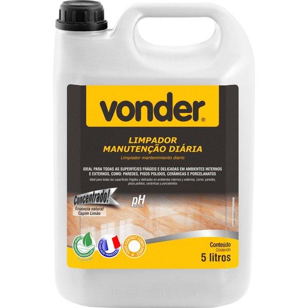 Limpador Manutenção Diária Biodegradável 5 Litros Vonder