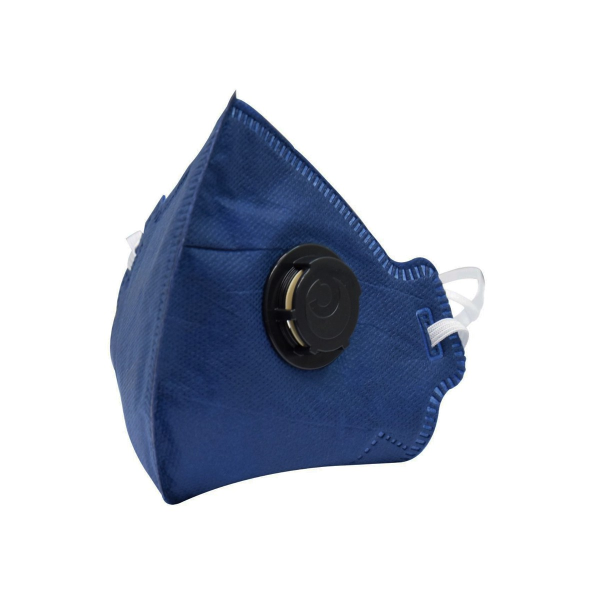 Kit Máscara Descartável Pff2 Com Válvula Camper (50 peças)