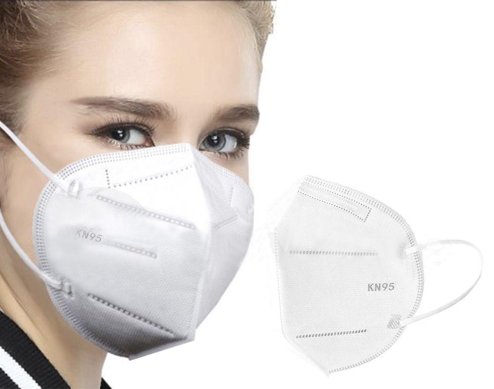 Máscara KN95 Descartável Não Médica (02 unidades)
