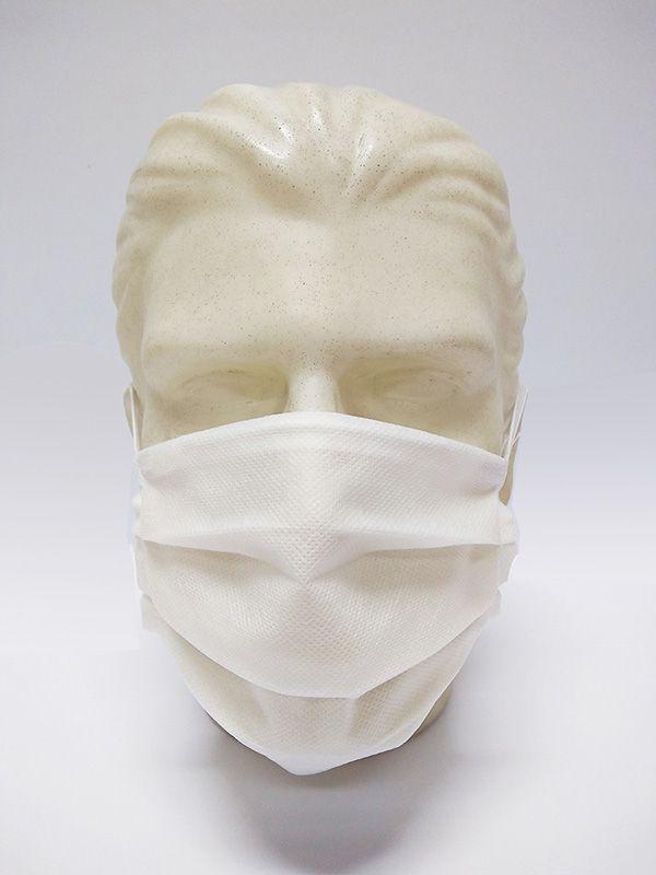 Máscara TNT para Proteção Respiratória Dupla Camada