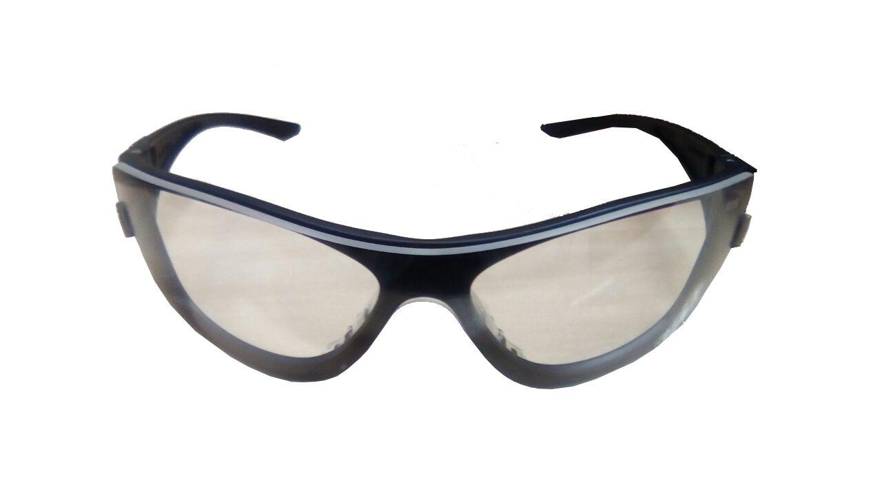 Óculos Antiembaçante E Antirrisco Starling Incolor/Preto Msa