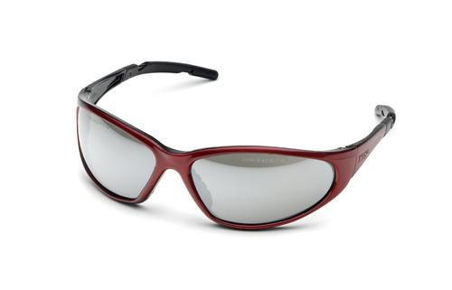 Óculos De Proteção Coast Vermelho Silver Hsd