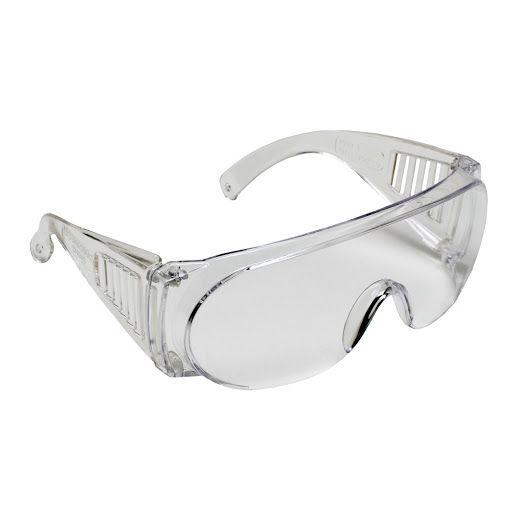 Óculos De Proteção Incolor Pro Vision Carbografite