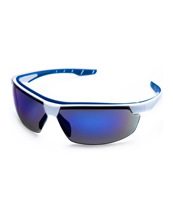 Óculos Neon Azul Espelhado Steelflex