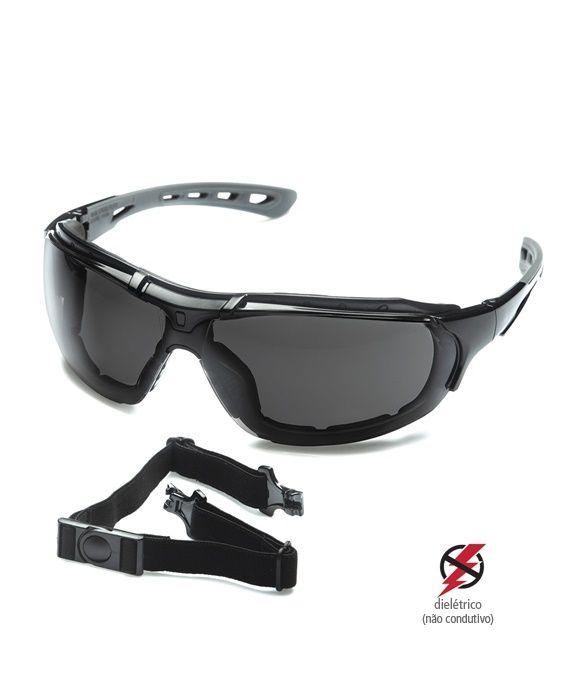 Óculos Roma Cinza Steelflex