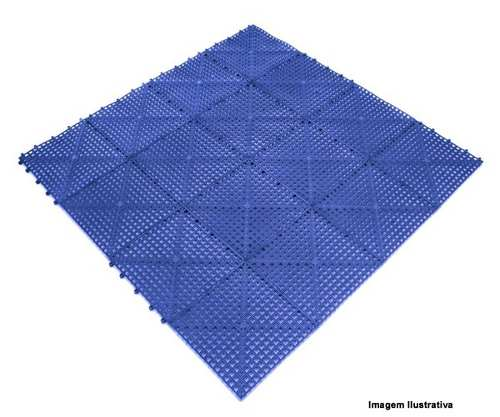 PISO ACQUA KAP 30CM X 30CM AZUL ROYAL KIT C/6PCS KAPAZI